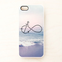 Anchor Infinity iPhone Case 5 4 4S Apple Beach Ocean Always Anchored Nautical