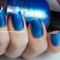 SALE  I Made a Blue Blue Nail Polish  05 oz Full by KBShimmer