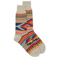 CHUP by Glen Clyde Santuario Navajo Socks (Sand) (&amp;#36;20-50) - Svpply