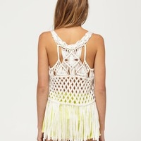 Macrame Madness Tank - Roxy