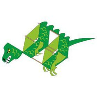 &quot;Flying Dino&quot; Dinosaur Box Kite