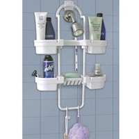 4 Tier Shower Caddy hangs in your dorm shower and is designed for college showers used by suitemates usually dorm room adjoining showers where 4 students share