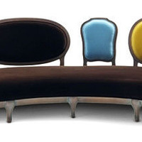 Sofa Chaise-Longue Scubism - Tendencias - Coleccin Stampa