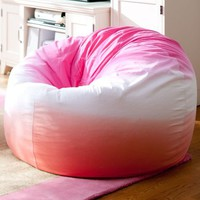 Dip Dye Warm Beanbag
