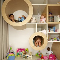 Fancy - Cubby Hole Shelves by MPR Design Group