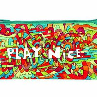 Blue Q Play Nice Pencil Case
