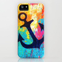 Anchor iPhone Case by Sophia Buddenhagen | Society6