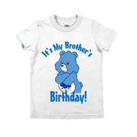 It's My Brother's/Sister's Birthday Carebear T-shirt
