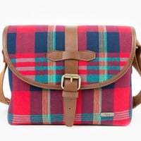 The Plaid Camera Satchel