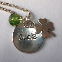 Lucky You Charm Necklace