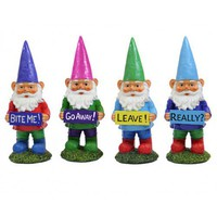 Grumpy Garden Gnomes