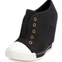 Canvas Cap Toe Wedge Sneaker: Charlotte Russe