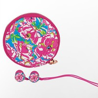 Lilly Pulitzer - Ear Buds With Pouch