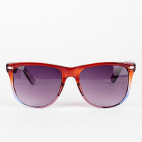 For Rio Sunglasses in Grey Rose :: tobi