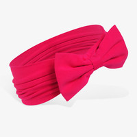 Knit Bow Headwrap | FOREVER 21 - 1000042600