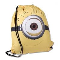 Despicable Me™ One-Eye Minion Drawstring Backpack | Universal Orlando™