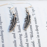 Feather Jewelry Set by KellyStahley on Etsy