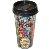Beatles Sgt. Pepper Travel Thermal Mug