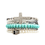 Pearls &amp; Skulls Bracelet Set: Charlotte Russe