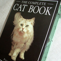Book Purse made from The Complete Cat Book  a by RokkiHandbags