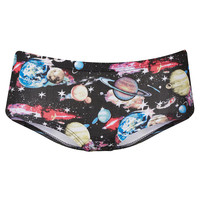 Galactic Planet Print Cheeky Pants - Lingerie &amp; Nightwear - Clothing - Topshop