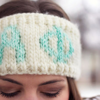 Alpha Phi Sorority Knit Headband