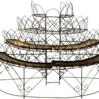 One Kings Lane - Dransfield &amp; Ross - Wirework Plant Stand