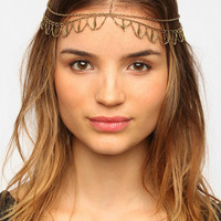 Urban Outfitters - Dangling Diamond Goddess Chain Headwrap