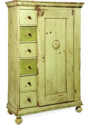 One Kings Lane - Dransfield & Ross - Antique Pie Safe Cabinet