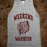 Weekend Warrior (Tank) - College Law Humor