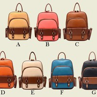 Vintage Style Backpack from Hallomall