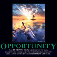 Opportunity Demotivator - The Original Demotivational Posters
