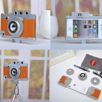 3D Fashion Camera Hard Plastic Case Cover