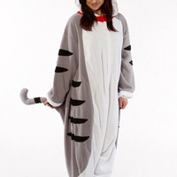Kigurumi Shop | Tabby Cat Kigurumi - Animal Costumes & Pajamas by Sazac
