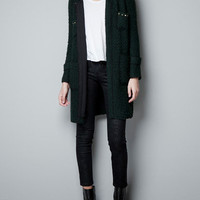 TWEED COAT WITH CHAIN - Collection - Sales - Woman - ZARA United States