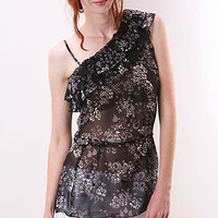 Sheer Tiers Top | Trendy Clothes at pinkice.com
