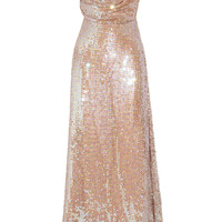Vivienne Westwood Gold Label Long Savannah sequined net gown – 65% at THE OUTNET.COM