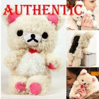 Amazon.com: Authentic Plush Toy Case for iPhone 5 5G itouch 5 + A Special Washing Bag as Gift - White Bear: Cell Phones & Accessories