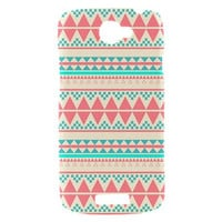 New Beautiful Aztec Pattern HTC One S  Hardshell Case Cover HTC One S Case Pink Aztec Pattern