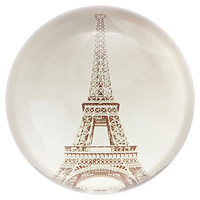 One Kings Lane - Easy Elegance - Crystal Eiffel Tower Paperweight