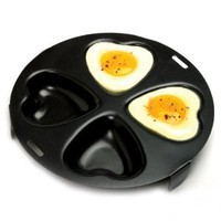Amazon.com: Norpro 661 Nonstick Heart Egg Poacher: Kitchen & Dining
