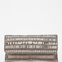 Urban Outfitters - Ecote Mixed Metal Clutch
