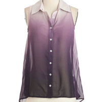 Lilac Festival Top | Mod Retro Vintage Short Sleeve Shirts | ModCloth.com