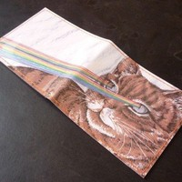 Laser Kitty Wallet | Little Paper Planes
