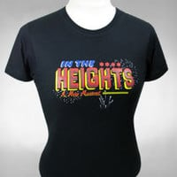 Buy In the Heights on Broadway Logo Tee - Ladies | The Broadway Store