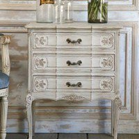 Vintage Louis XV French Style Commode Gris