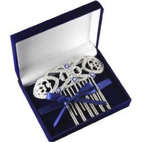 "Amazon.com: Twilight Breaking Dawn ""Bella's Hair Comb in Velvet Box: Clothing"