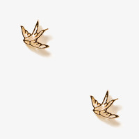 Cutout Dove Studs | FOREVER21 - 1038180185
