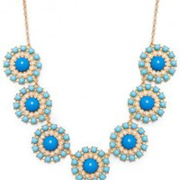 Eugenia Necklace in Blue Cloud - ShopSosie.com