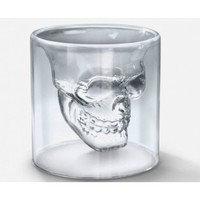 Novelty Crystal Skull Shot Glass Cup